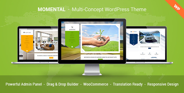 Momental Multi Concept WordPress Theme