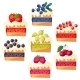 Cakes with Various Fillings - GraphicRiver Item for Sale