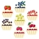 Cupcakes with Various Fillings - GraphicRiver Item for Sale