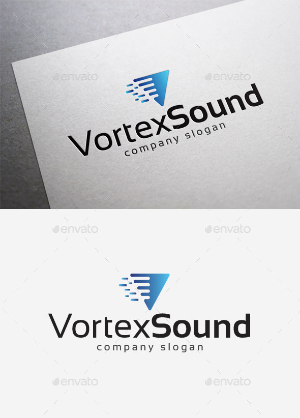 GraphicRiver Vortex Sound Logo 10042175
