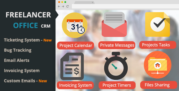 Freelancer Office - CodeCanyon Item for Sale