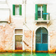 Old house canal Venice Italy. - PhotoDune Item for Sale