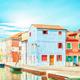 Houses Burano Italy. - PhotoDune Item for Sale