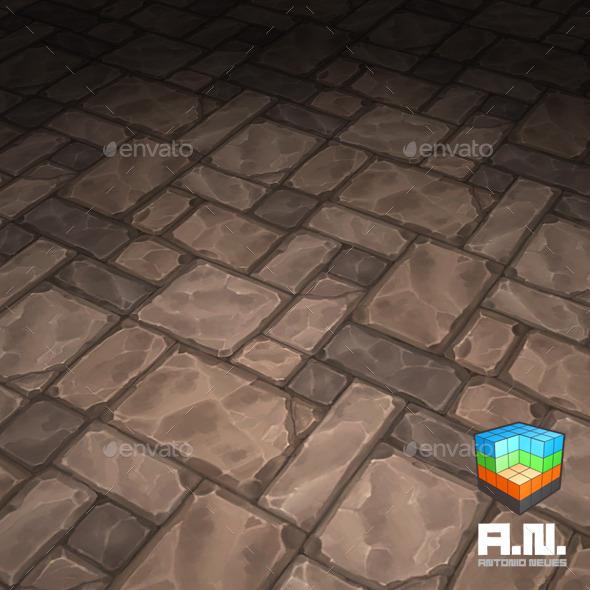 3DOcean Stone texture floor-01 10042733