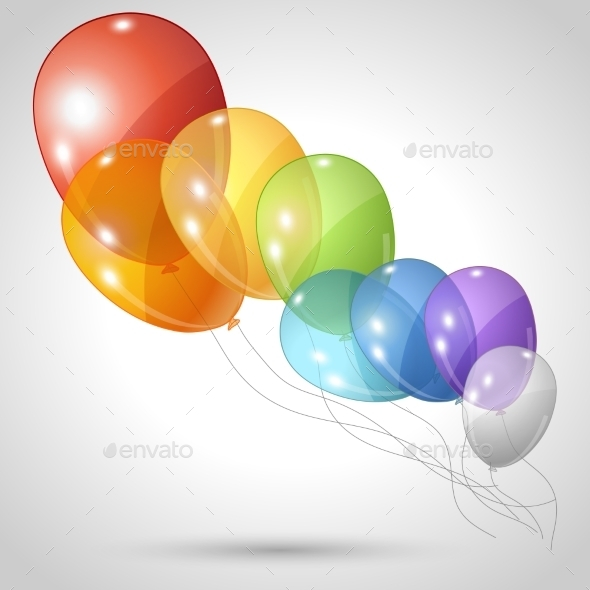 GraphicRiver Balloons 10043040