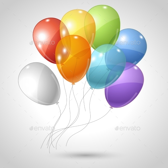 GraphicRiver Balloons 10043044