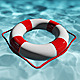 Lifebuoy Floating In Water - VideoHive Item for Sale