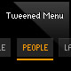 dynamic tweened menu (as3, xml) - ActiveDen Item for Sale