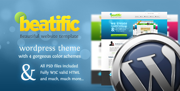 Beatific for Wordpress - 4 in 1