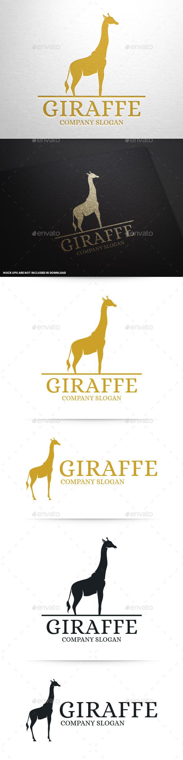 GraphicRiver Giraffe Logo Template 10046047