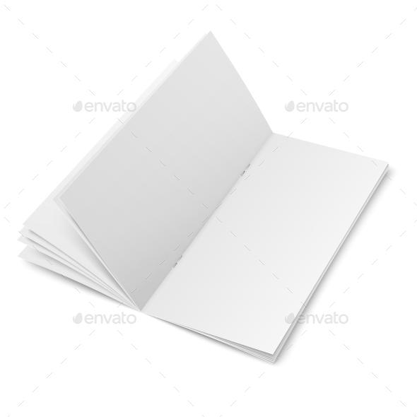 Multi-Page Blank Brochure