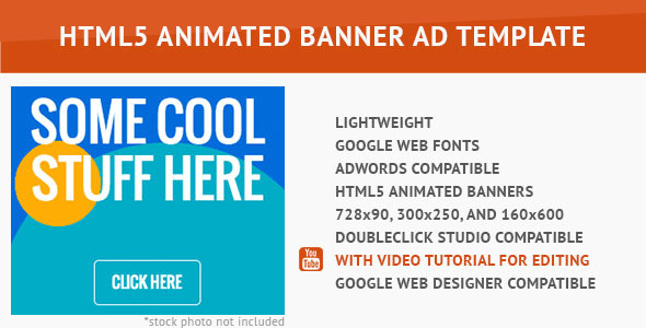 CodeCanyon Power Color HTML5 Animated Banner 10046926