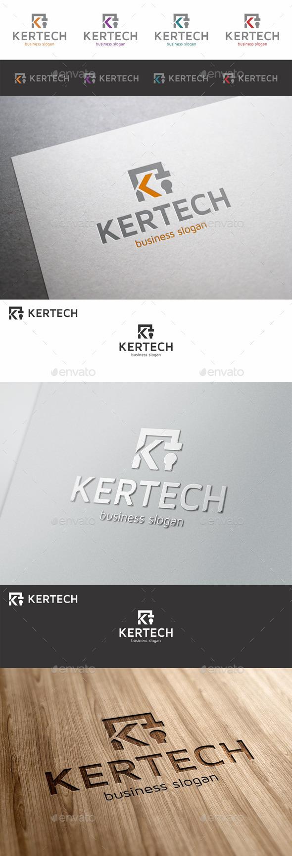 GraphicRiver K Letter Logo Template Kertech 10047275