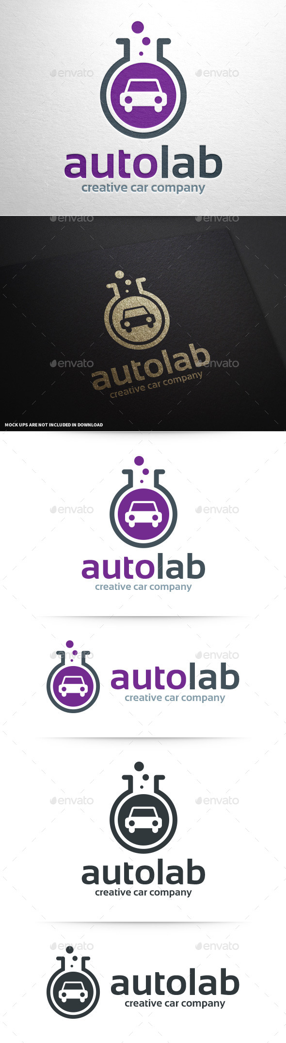 Auto Lab Logo Template