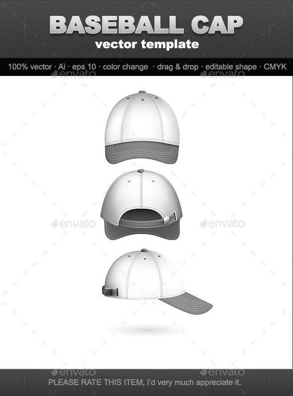GraphicRiver Baseball Cap 10047546