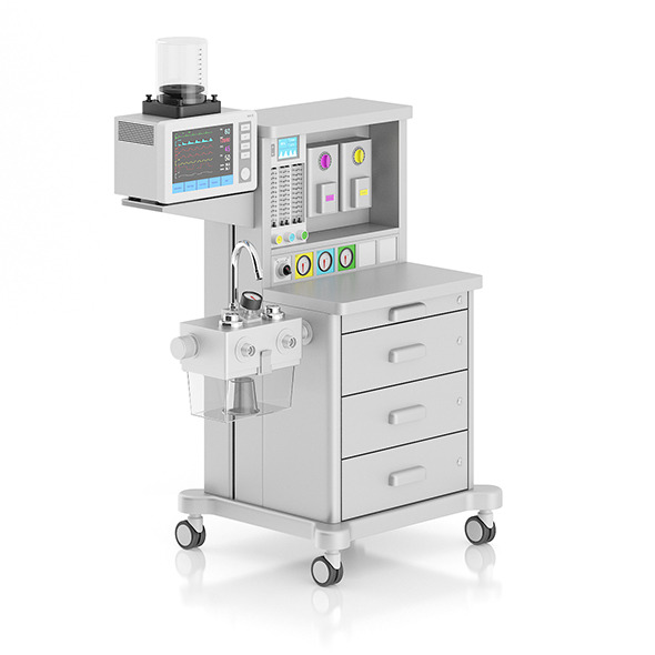 Anesthesia Delivery System - 3DOcean Item for Sale