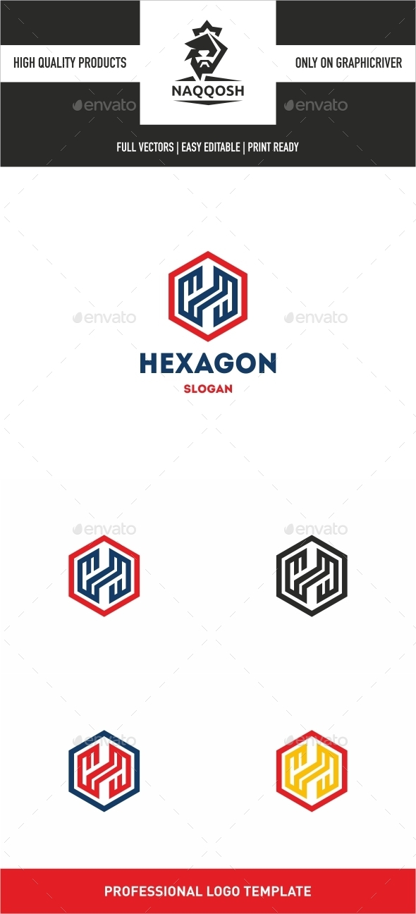 GraphicRiver Hexagon 10047881