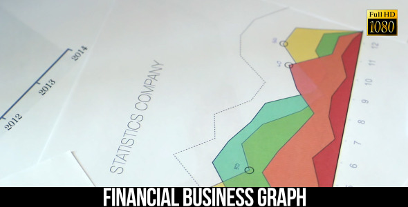 Financial Business Graph 16