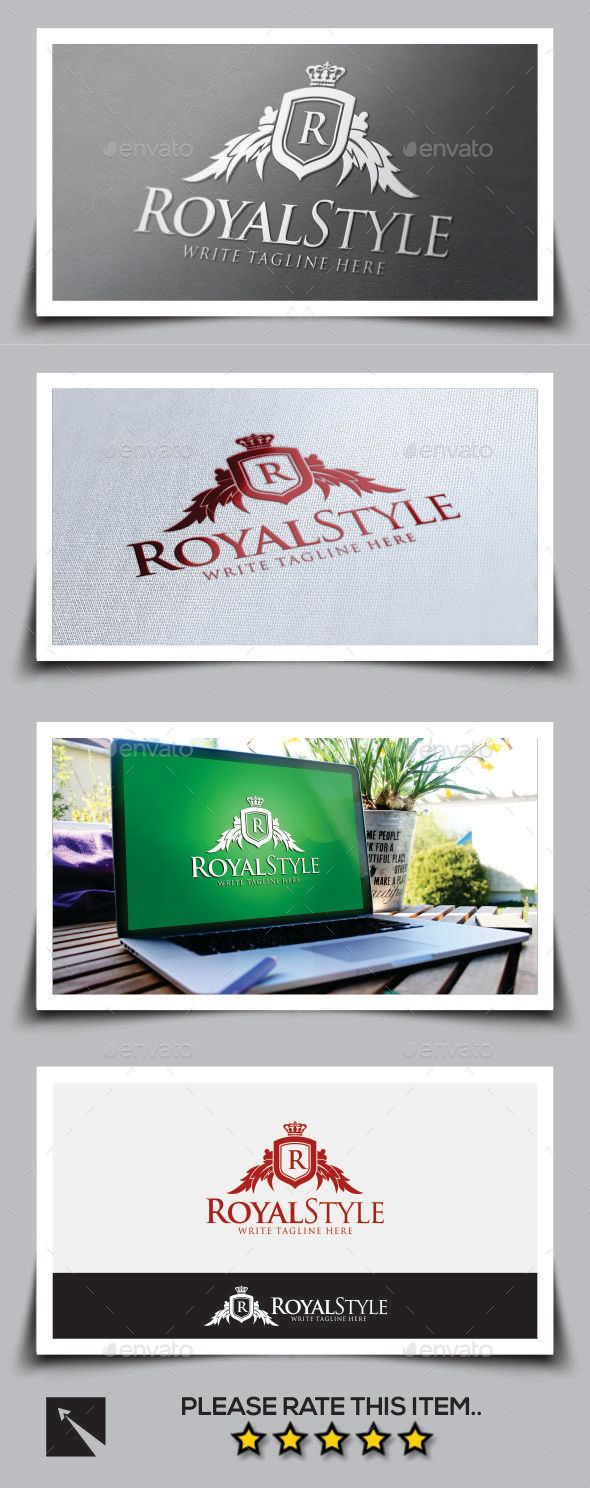 Royal Style Logo Template