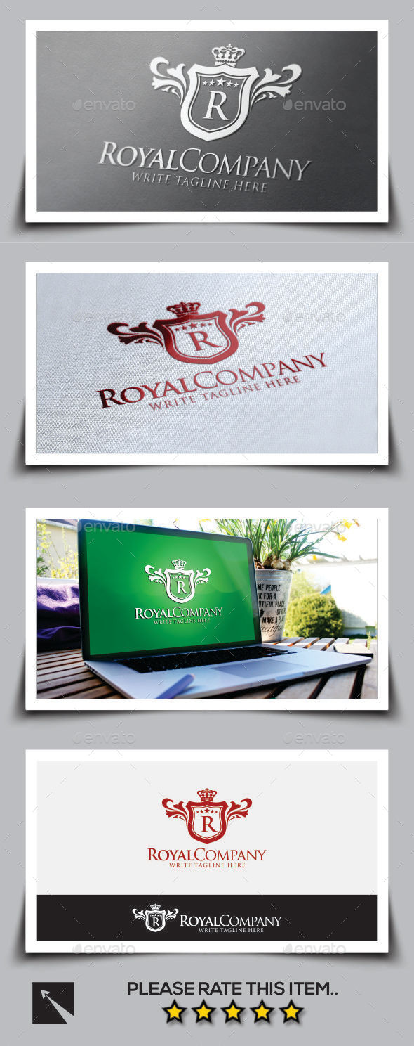 Royal Company V2 Logo Template