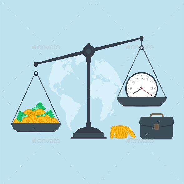 GraphicRiver Time and Money 10049537