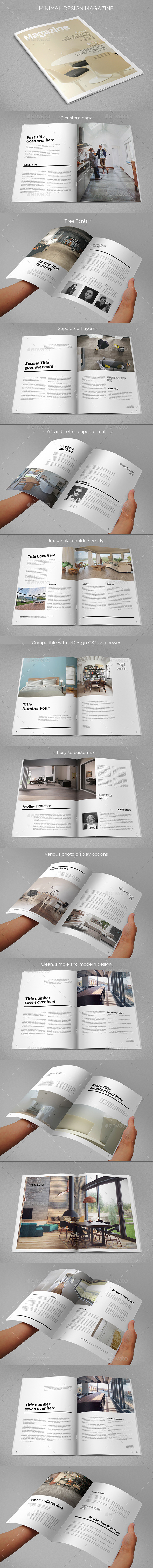 GraphicRiver Minimal Design Magazine 10049560