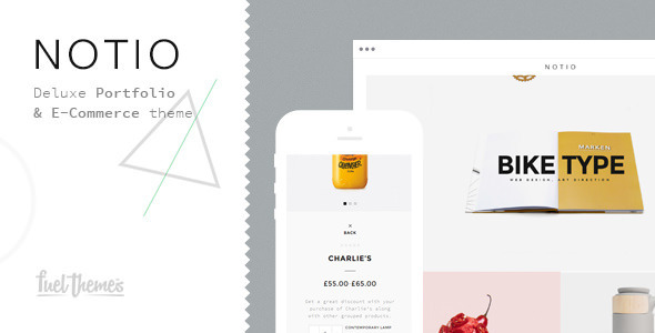 ThemeForest Notio Deluxe Portfolio Theme 10049784
