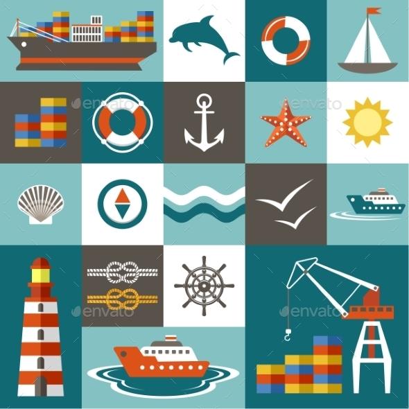 GraphicRiver Port Set 10049827