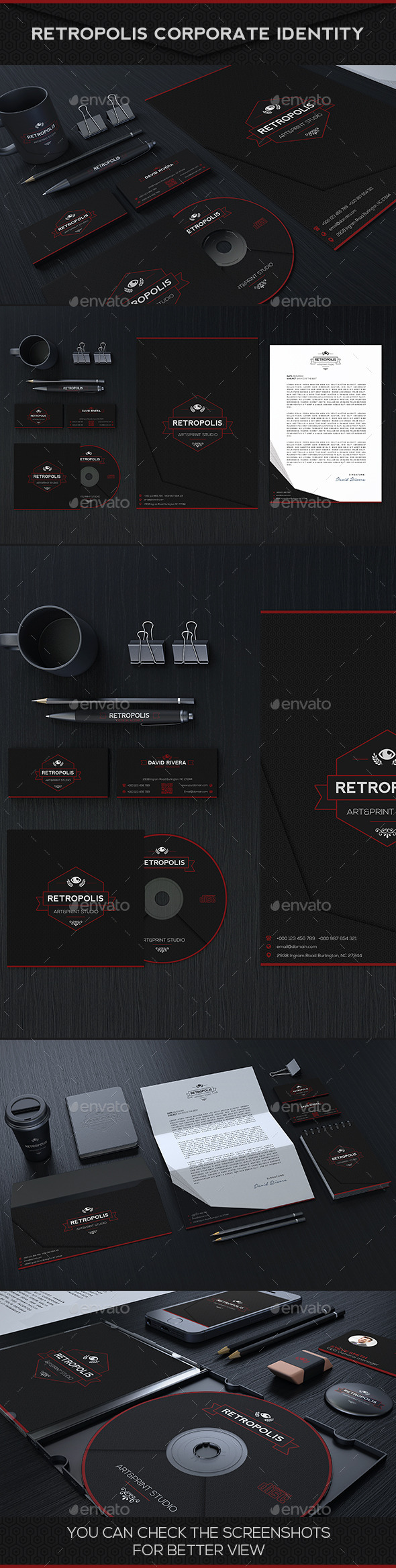 GraphicRiver Retropolis Corporate Identity 10049868