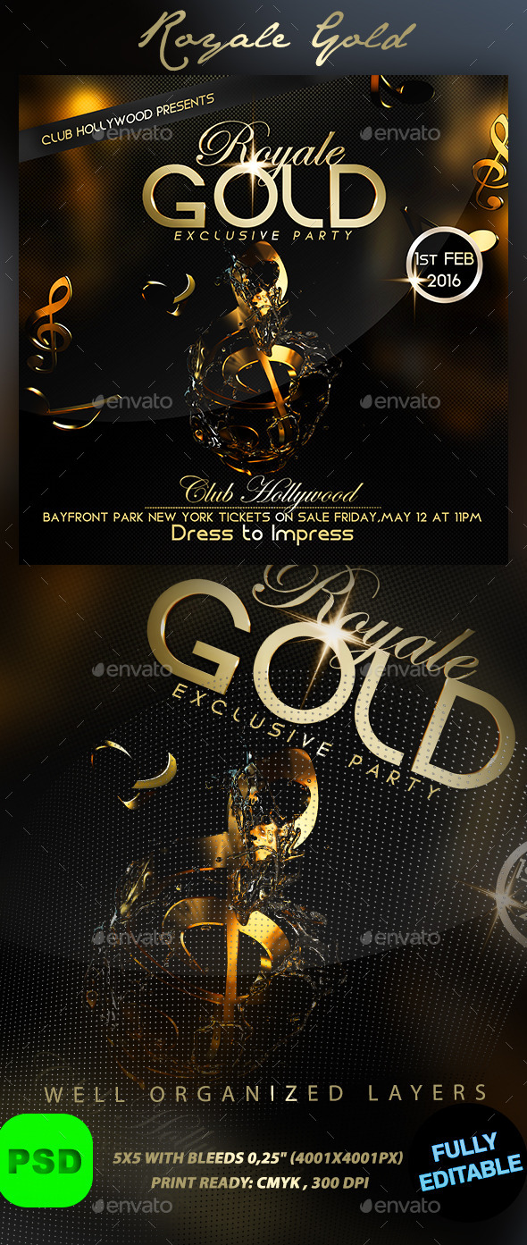 GraphicRiver Royale Gold 10049872