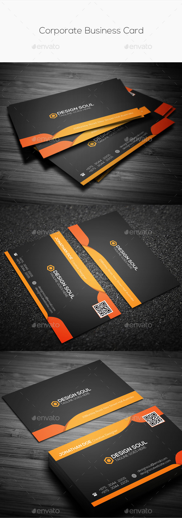 GraphicRiver Corporate Business Card 10049962