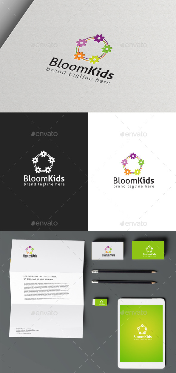 GraphicRiver Bloom Kids 10049988