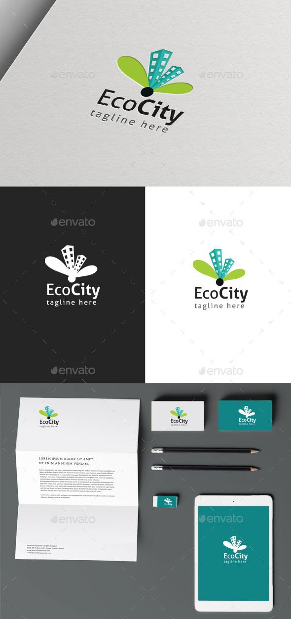 GraphicRiver Eco City 10050017