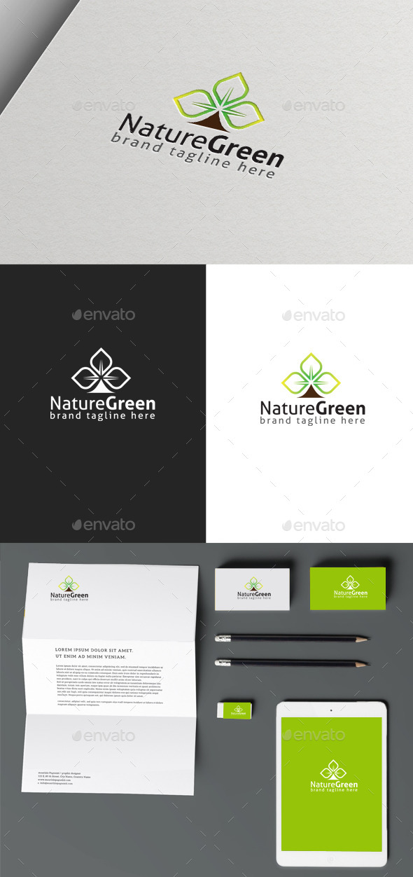 GraphicRiver Green Nature 10050239
