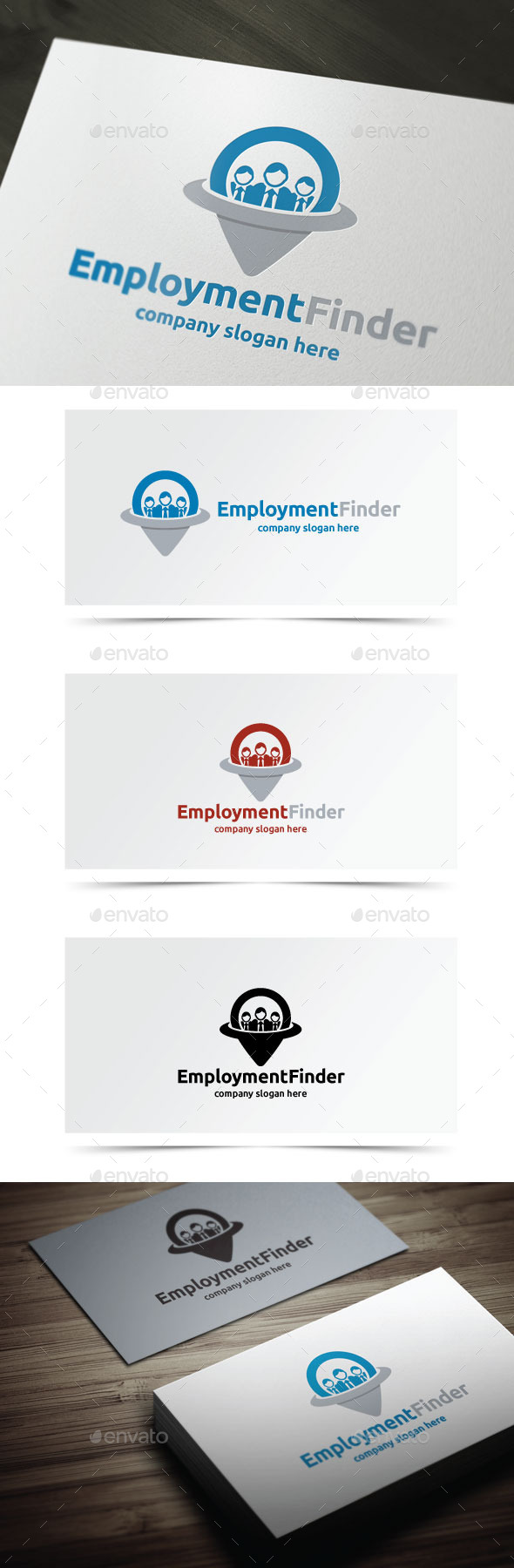 GraphicRiver Employment Finder 10050337