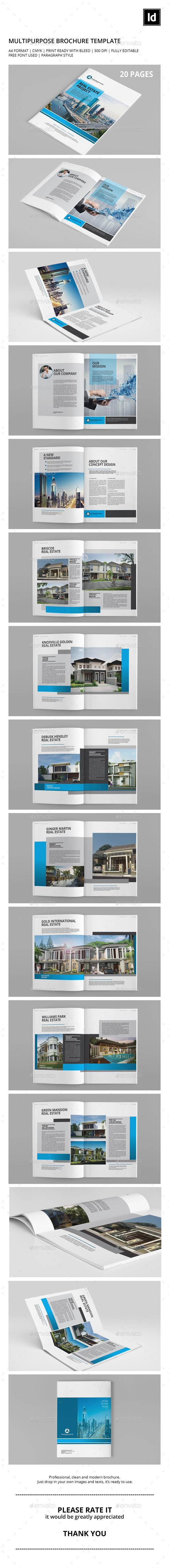 GraphicRiver Multipurpose Brochure Template 10050581