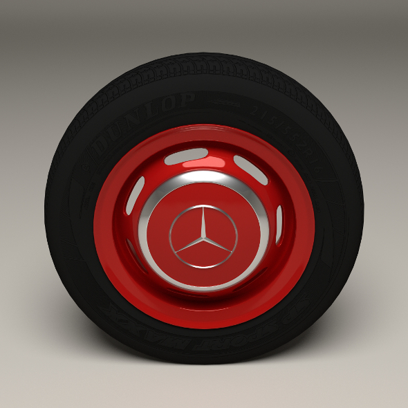 3DOcean Mercedes 300SL Wheel 10050724