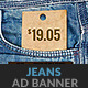 Jeans Cloth Shop GWD HTML5 Ad Banner