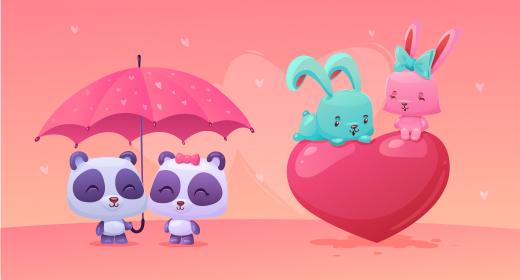 Love & Happy valentine day
