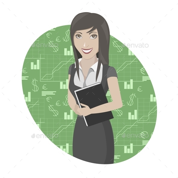 GraphicRiver Business Woman 10051764