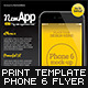 Mobile App Flyers Template 11 - GraphicRiver Item for Sale