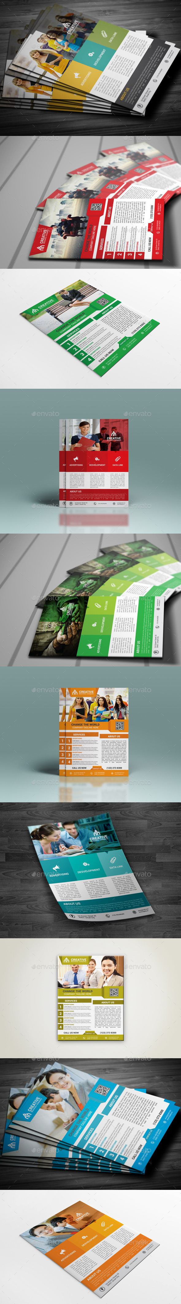 GraphicRiver Flyer Bundle 10052372