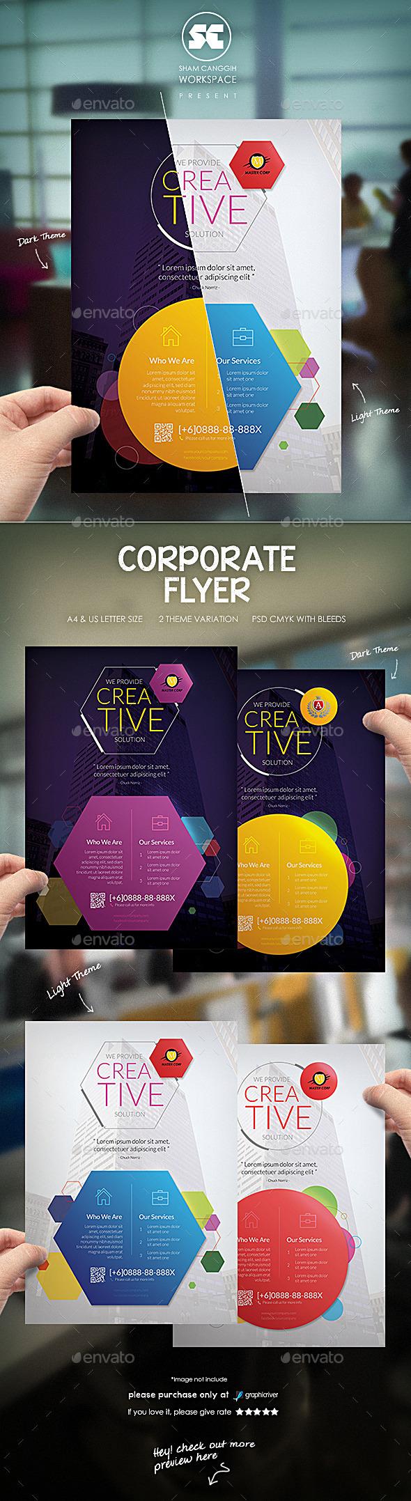 GraphicRiver Clean Corporate Flyer 10040129
