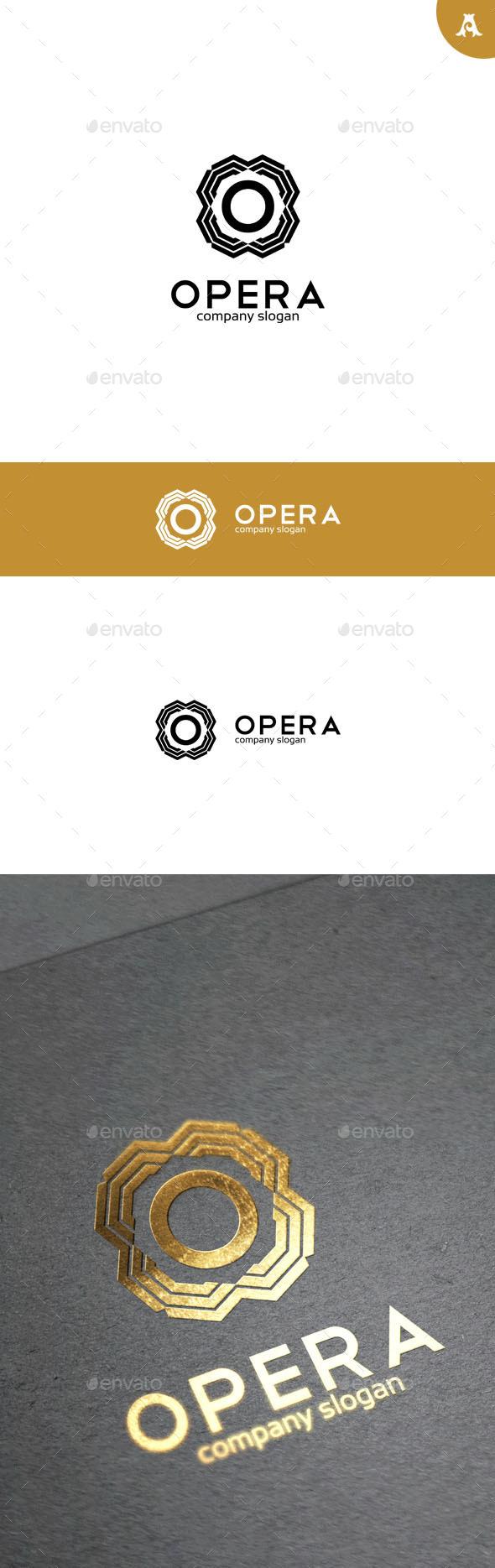 GraphicRiver Opera Logo 10052494