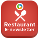 Food & Restaurant Newsletter Template - GraphicRiver Item for Sale