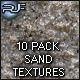 Sand Granules Macro textures 10 PACK - GraphicRiver Item for Sale
