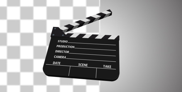Film Clapper Transition