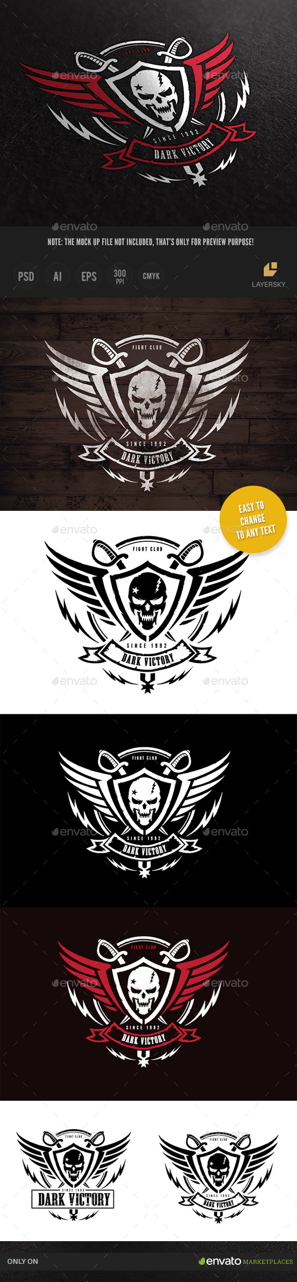 GraphicRiver Dark Victory 10053194