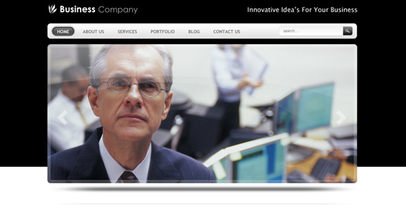 Image of Smart Business Company Drupal 6 Theme