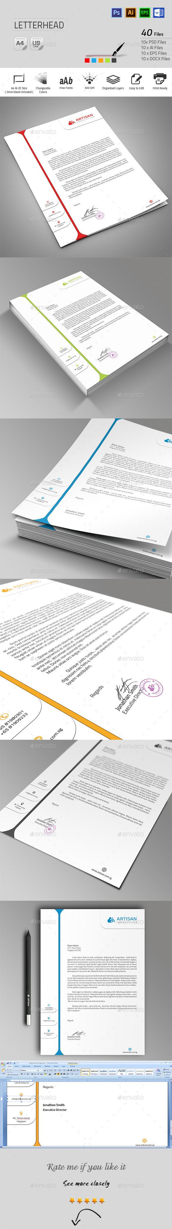 GraphicRiver Letterhead 9966266